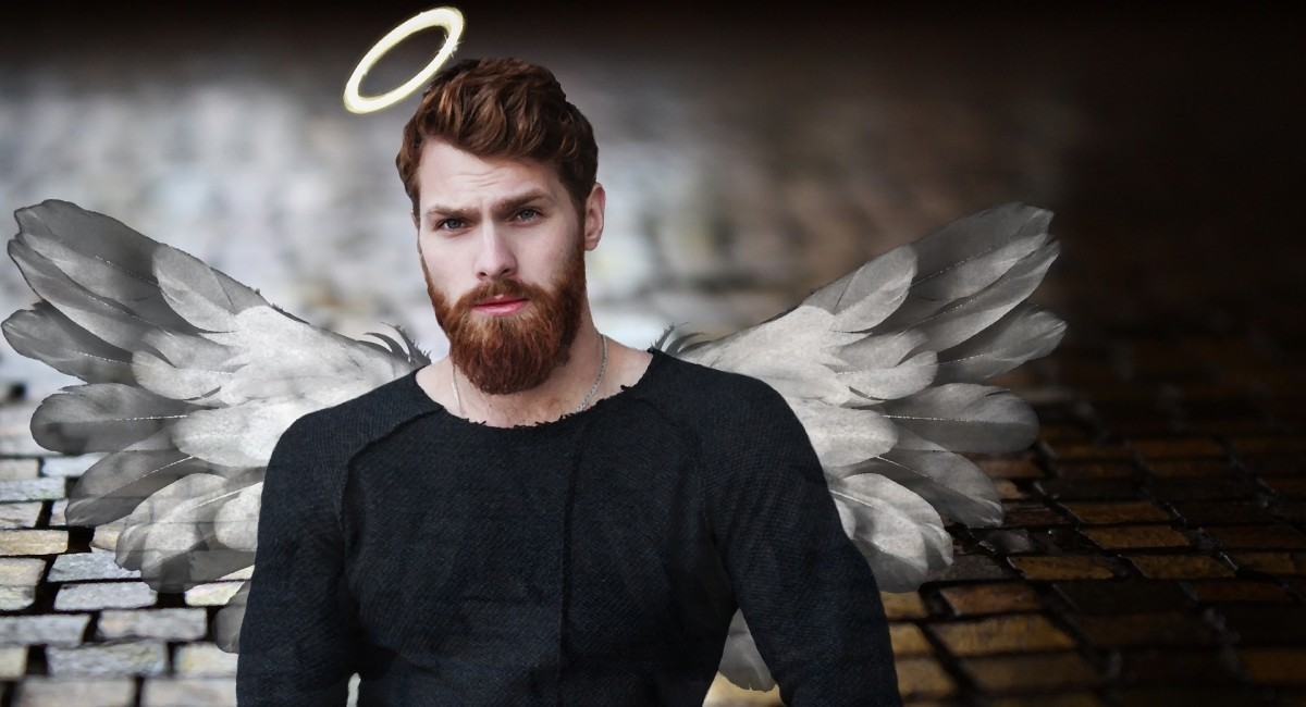 Dudes can be angels too.
