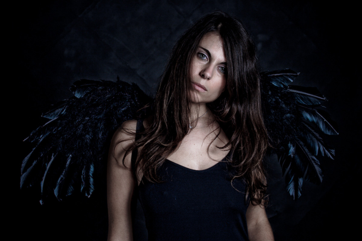 Not all angels are pure.  Some have flown too close to the fire and had their wings burned.