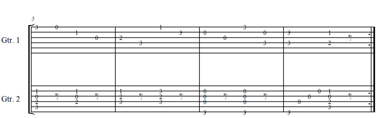 easy-classical-guitar-duet-opus-168-no6-by-j-kffner-in-standard-notation-guitar-tab-audio