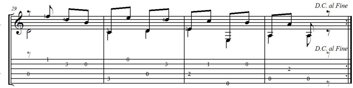 F. Carulli Opus 241 - Andante no. 1