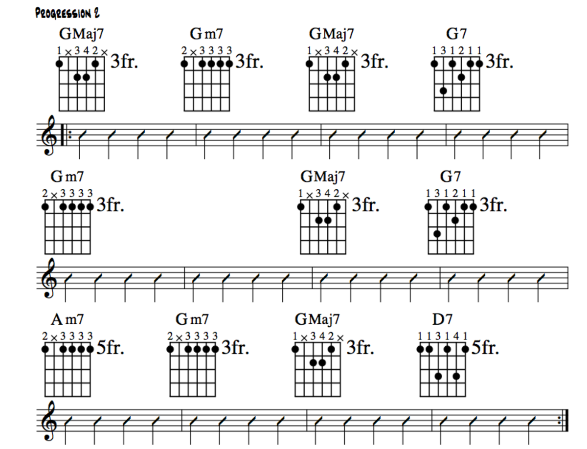 Jazz Guitar Lessons • Jazz Chord Substitution Part Two