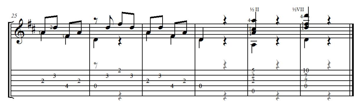 Mauro Giuliani: Opus 50 no.10 (Allegro)