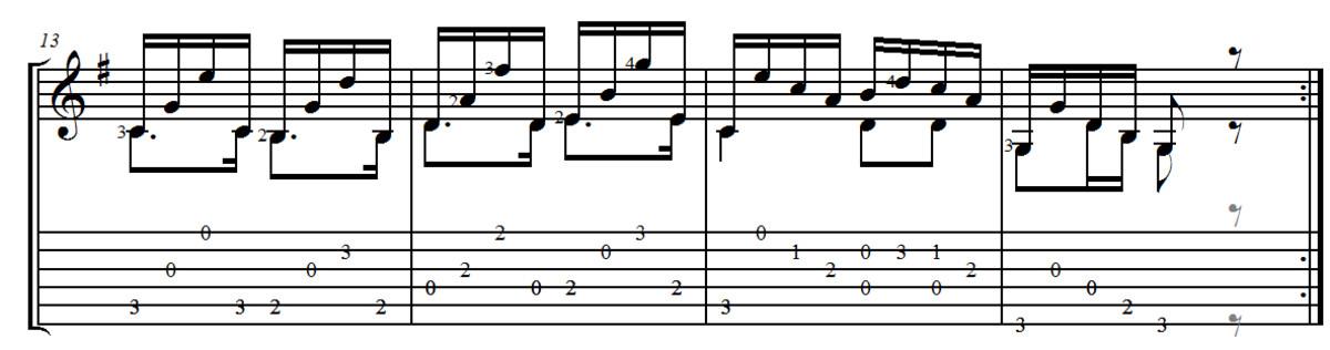 F. Carulli - Opus 241 Andantino No.3