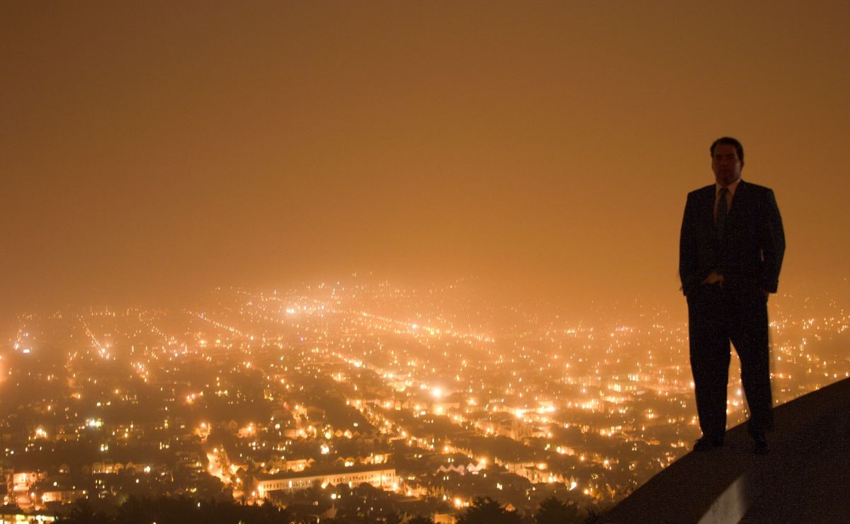 Do you feel on top of the world?  (This guy's not a narcissist but he takes a great selfie!)