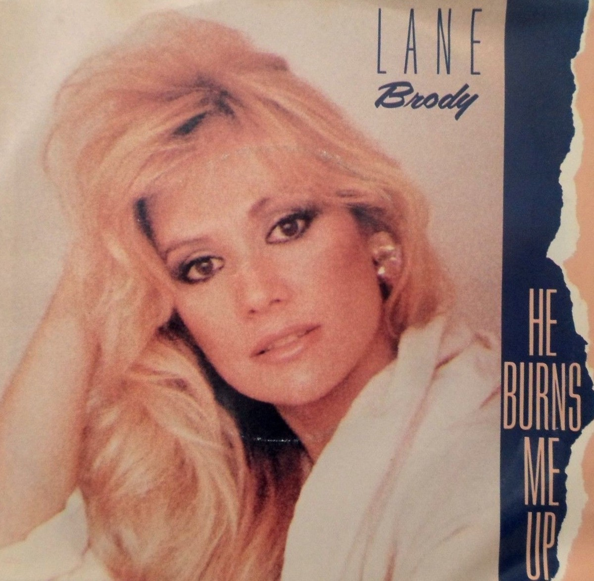 Lane on the cover of her single He Burns Me Up