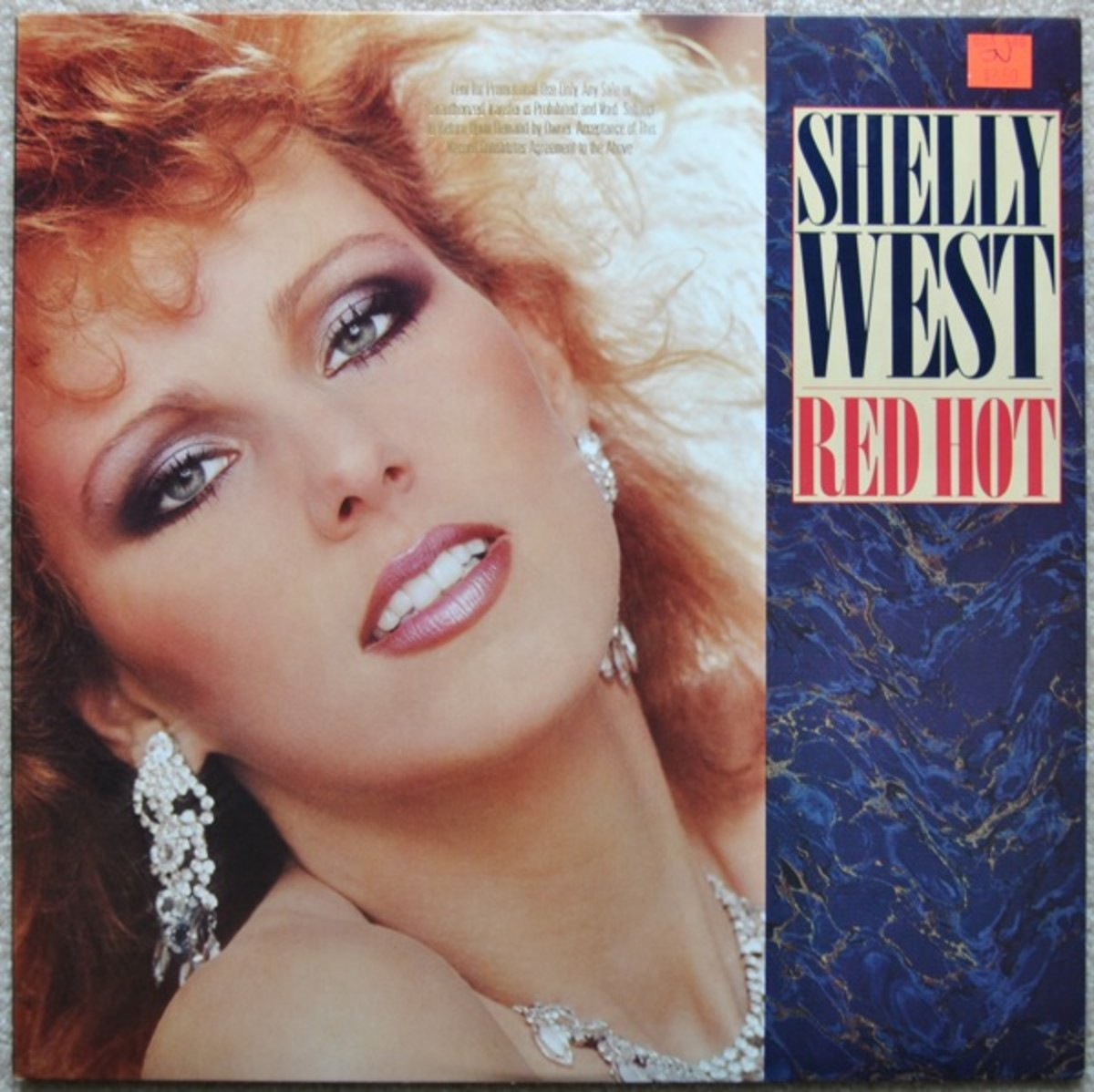 Cover of Shelly West's Red Hot Album