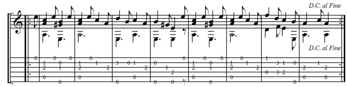 F. Carulli - Andante No.2 From Opus 241