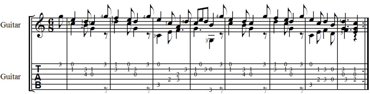carulli-opus-241-andante-no2-guitar-tab-notation