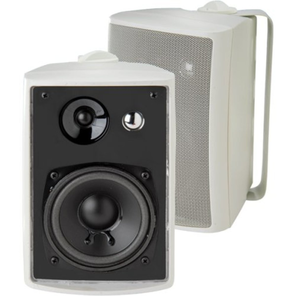 These Dual LU43PW Indoor/Outdoor Speakers are at the more affordable end of the price range, but don't let that fool you into thinking that they don't offer excellent value for money.  They are versatile to place/mount, and put out a huge sound.