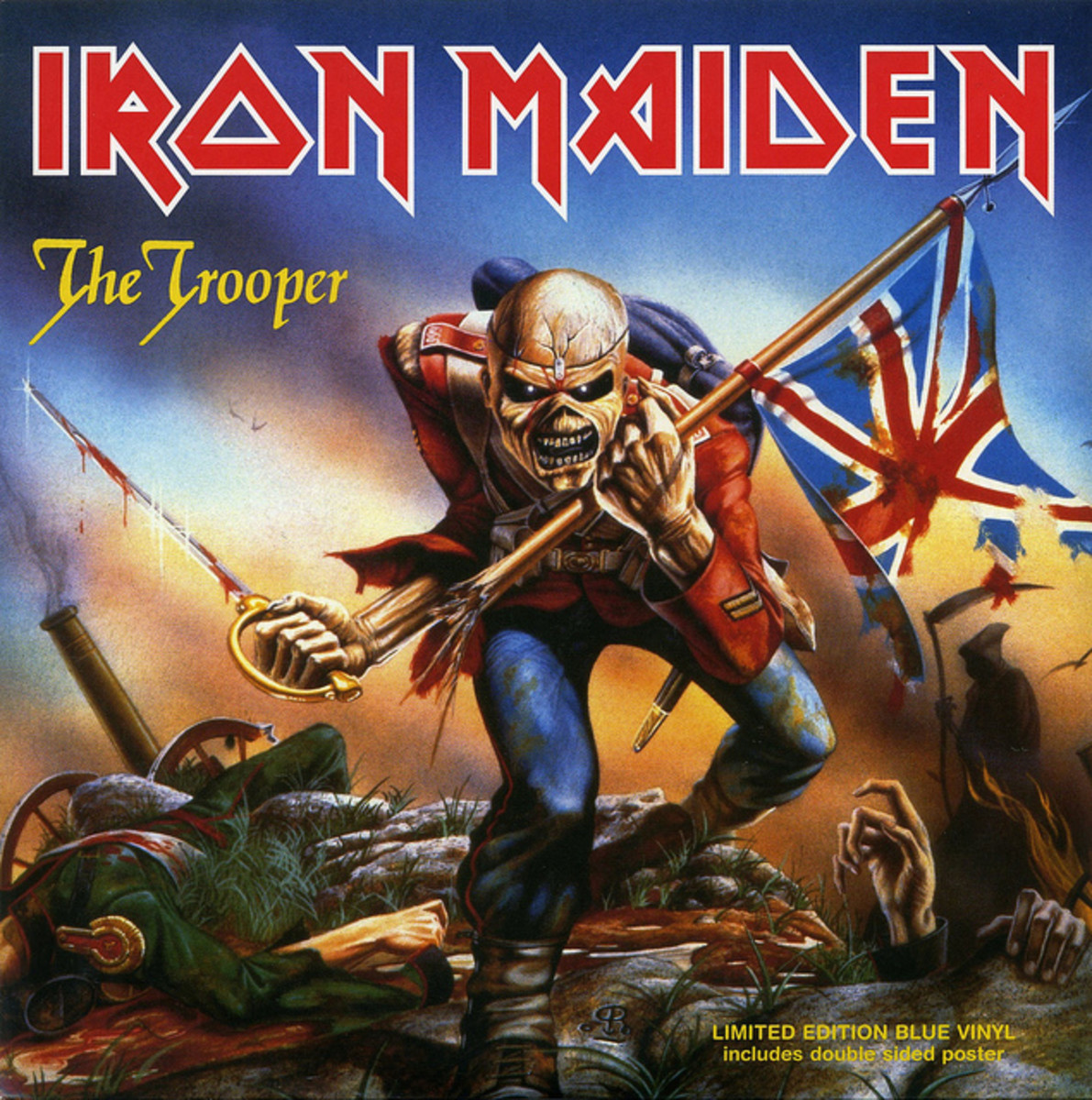 Iron Maiden Album Covers by Derek Riggs - Spinditty
