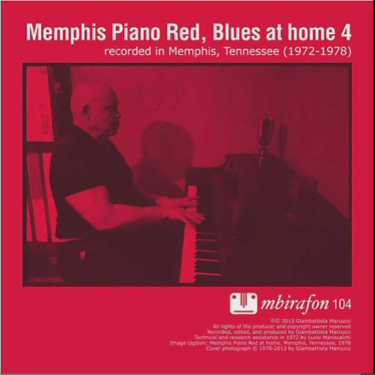 "John ""Piano Red"" Williams performed in many clubs and bars on Beale Street in Memphis, Tennessee."
