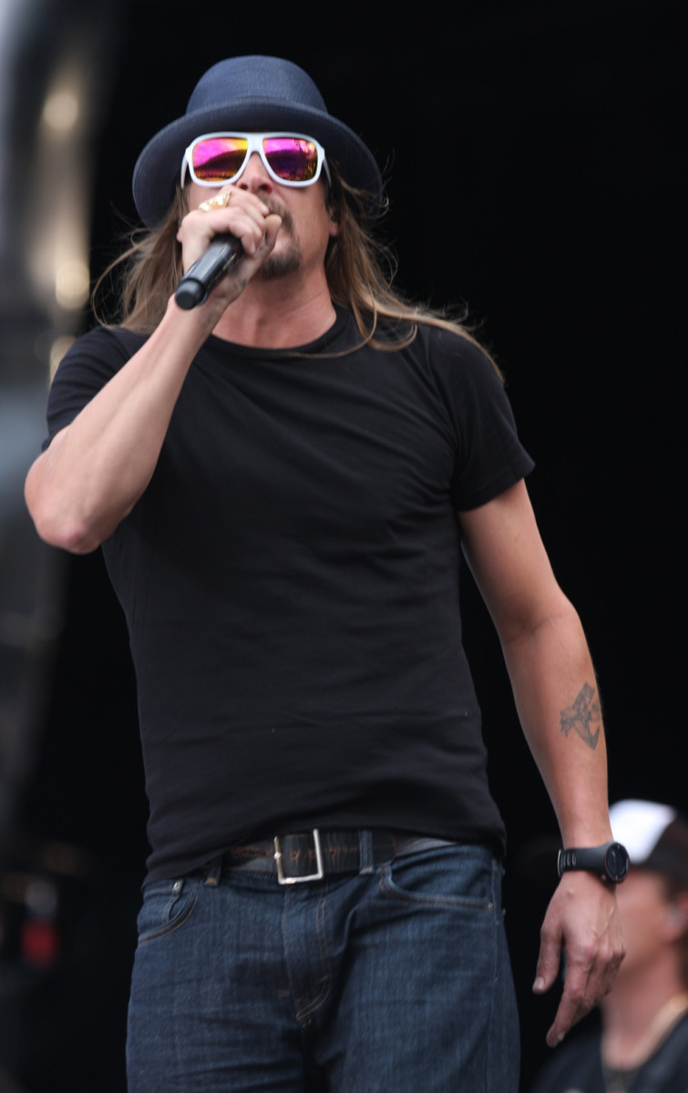 "Kid Rock's real name is Robert ""Bob"" James Ritchie."