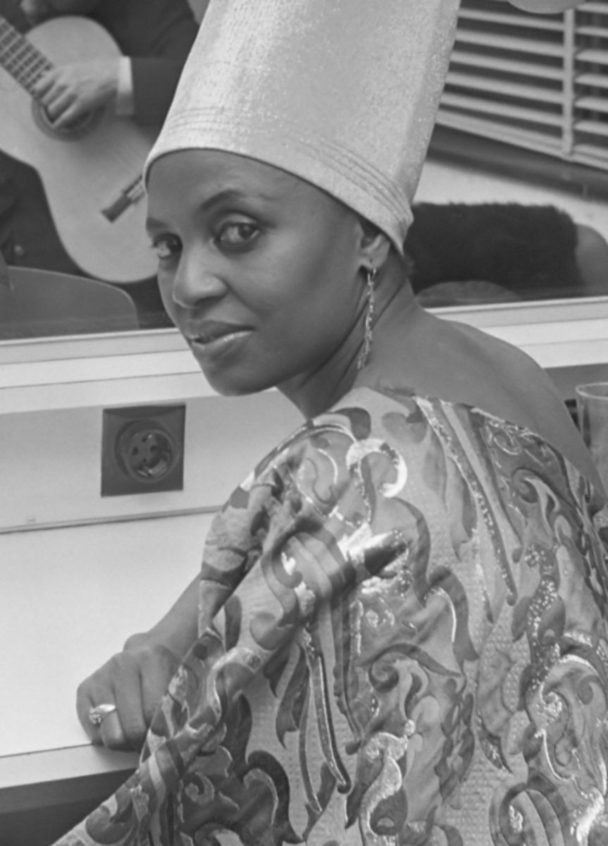 Miriam Makeba (RIP) rendition of Malaika popularized it globbaly