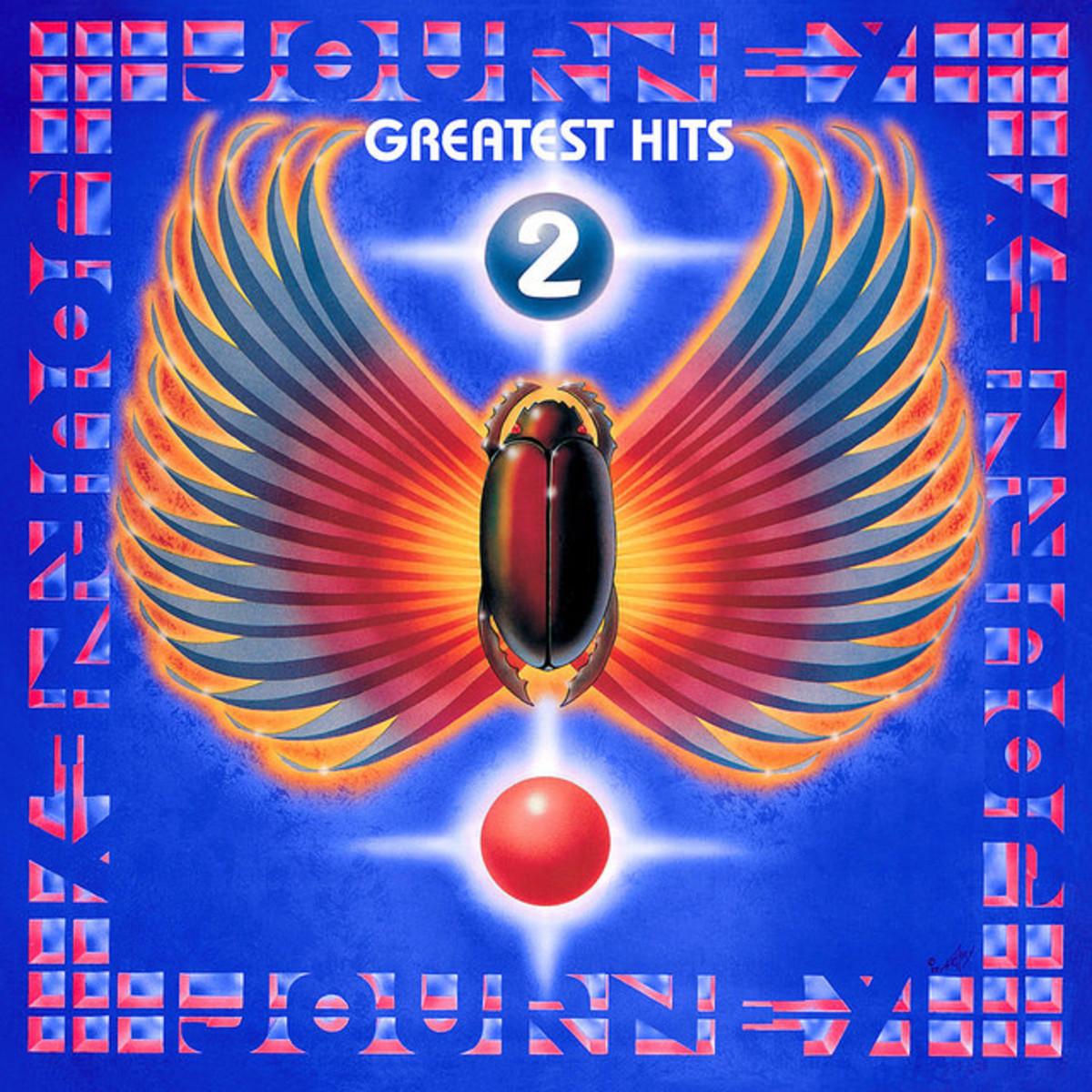 "Journey ""Greatest Hits 2"" Sony Music Entertainment, Columbia, Legacy 88697934231 2 12"" LP Vinyl Record Set US Pressing (2011) Album Cover Art by Alton Kelley"
