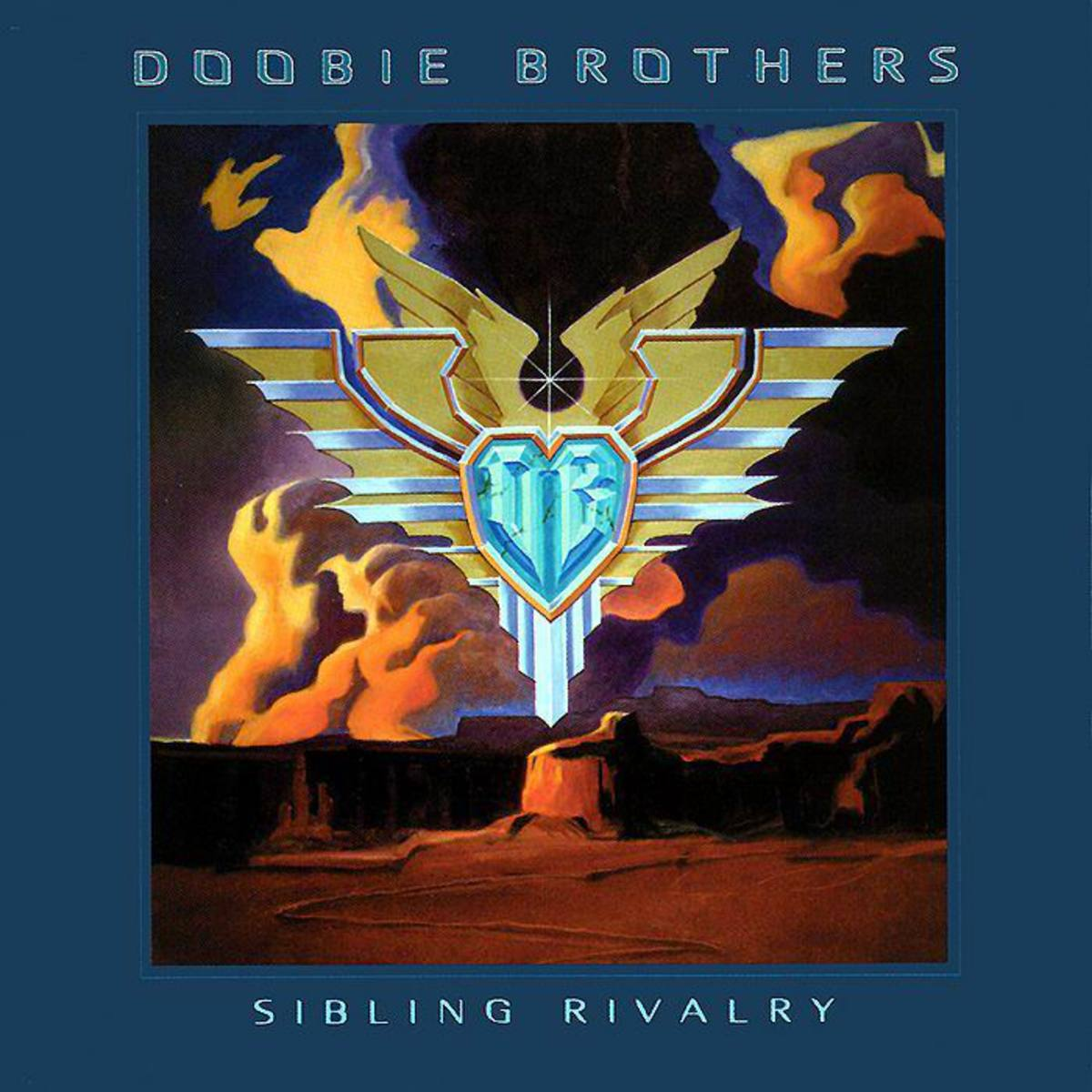 "Doobie Brothers ""Sibling Rivalry"" Rhino Records R2 75809 CD US Pressing (2000) Album Cover Art by Stanley Mouse"