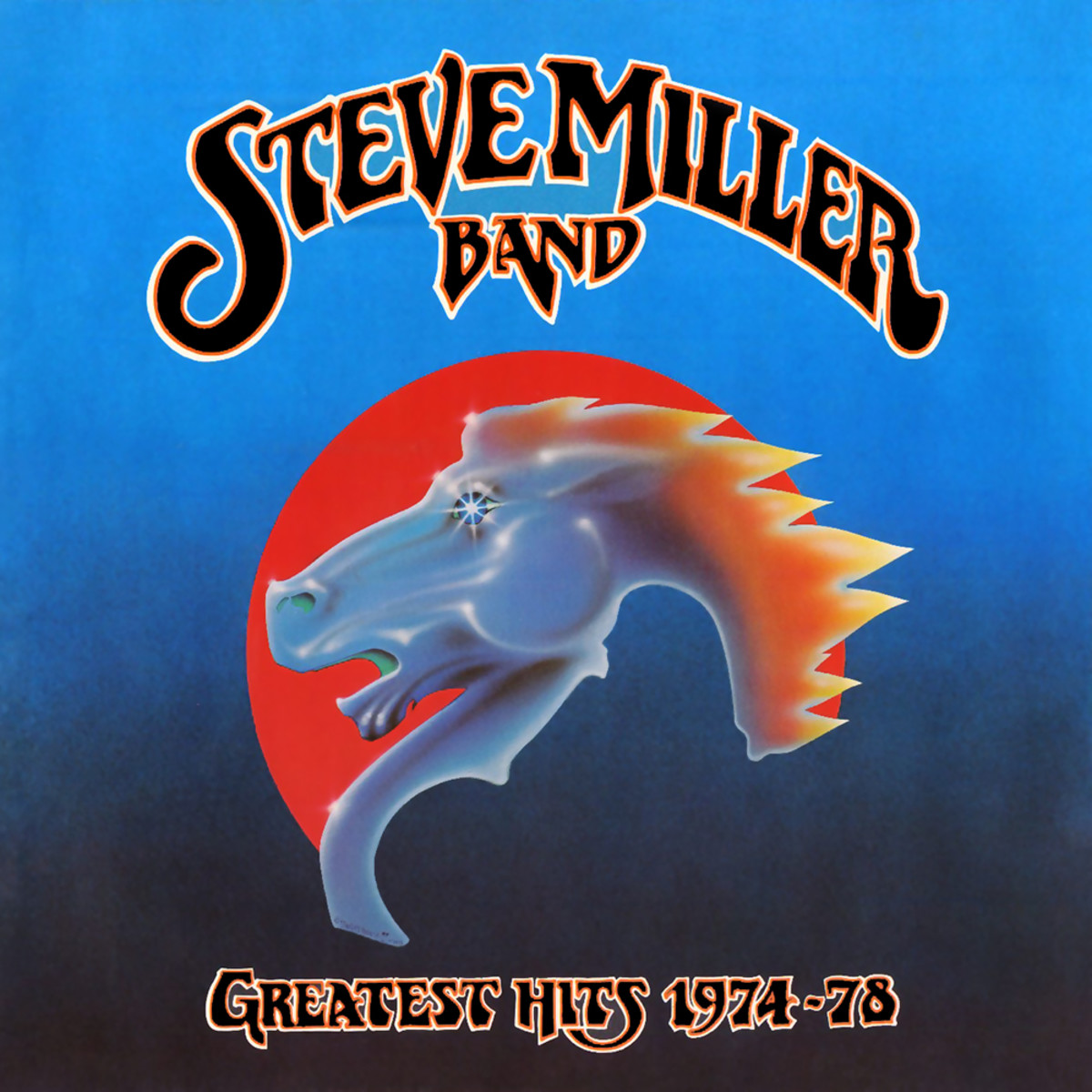 "Steve Miller Band ""Greatest Hits 1974-78"" Capitol Records R 133199 12"" LP Vinyl Record US Pressing (1978)  Album Cover Art by Alton Kelley & Stanley Mouse"