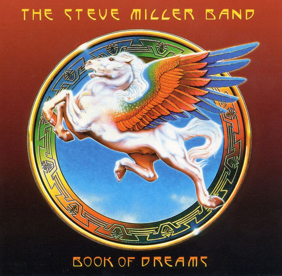 "Steve Miller Band ""Book Of Dreams"" Capitol Records SO-11630 12"" LP Vinyl Record US Pressing (1977) Album Cover Art by Alton Kelley & Stanley Mouse"