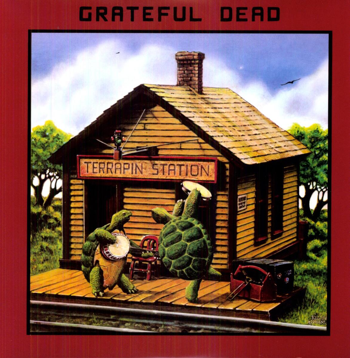 "Grateful Dead ""Terrapin Station"" Arista Records 3C-064-99306 12"" LP Vinyl Record US Pressing (1977) Album Cover Art by Alton Kelley & Stanley Mouse"