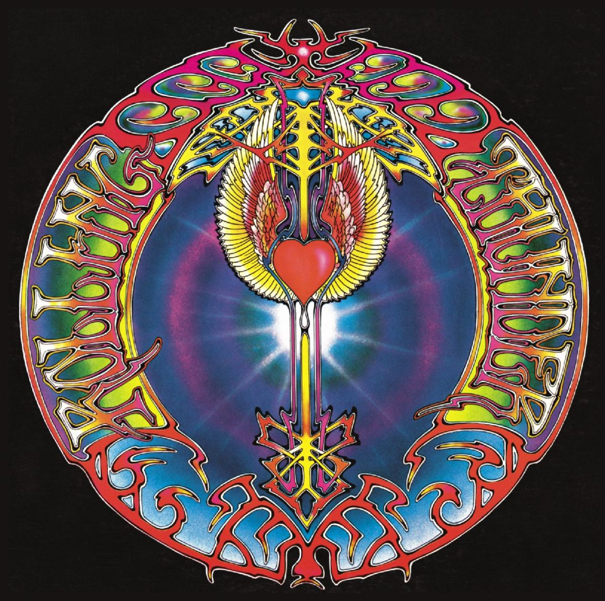 "Mickey Hart ""Rolling Thunder"" Warner Brothers Records BS 2635 12"" LP Vinyl Record (1972) Album Cover Art Alton Kelley & Stanley Mouse"