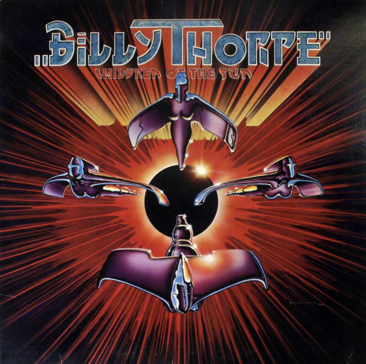 """Billy Thorpe """"Children Of The Sun"""" Capricorn Records CPN-0221 12"""" LP Vinyl Record US Pressing (1979)  Album Cover Art by Alton Kelley & Stanley Mouse"""