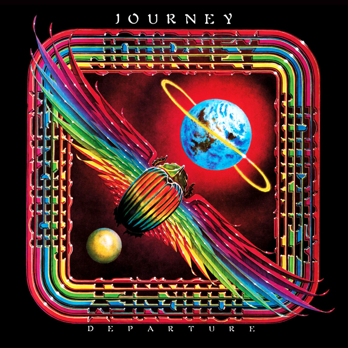 "Journey ""Departure"" Columbia FC 36339 12"" LP Vinyl Record US Pressing (1980)  Album Cover Art by Alton Kelley & Stanley Mouse"