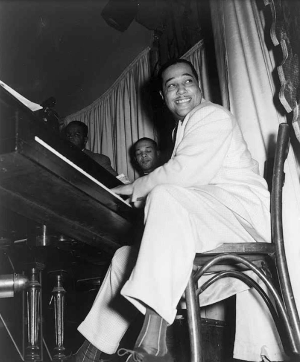 Duke Ellington in the Hurricane Club in New York May, 1943