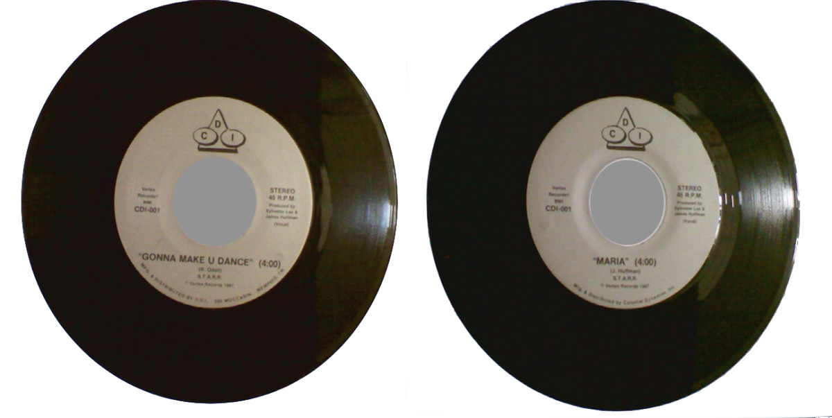 Unlike the name implies; a single had two songs, one on the A-side and one on the B-side.