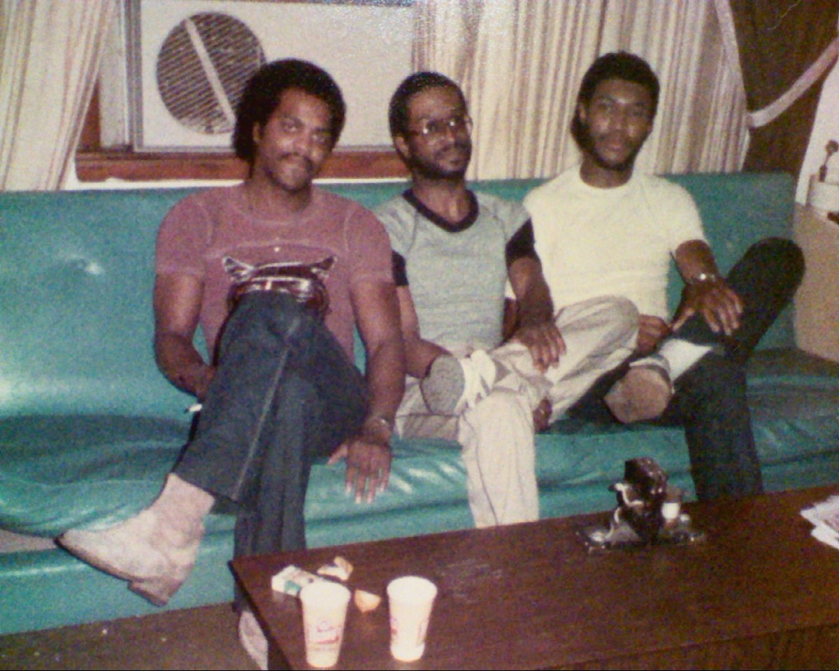 S.T.A.R.R. compressed to three members who produced their own single to promote their first album. Shown left to right are:  Napoleon Briggs, Rob, and James Anthon Huffman