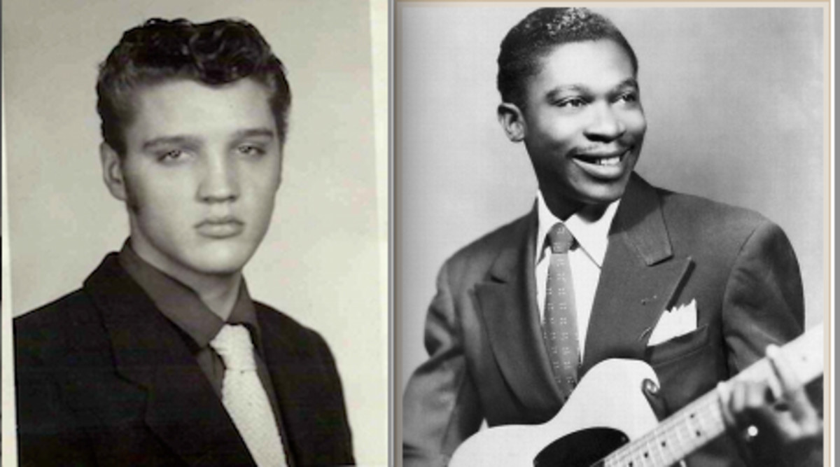 A young man named Elvis and a young man named Riley King were both survivors of Amateur Night On Beale