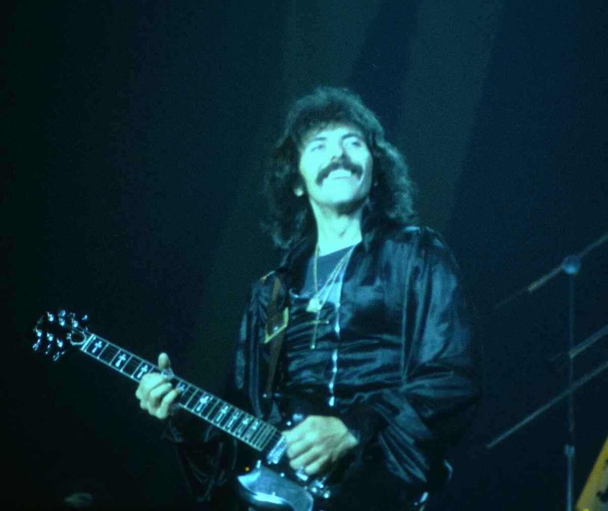 The godfather of metal guitar, Toni Iommi.