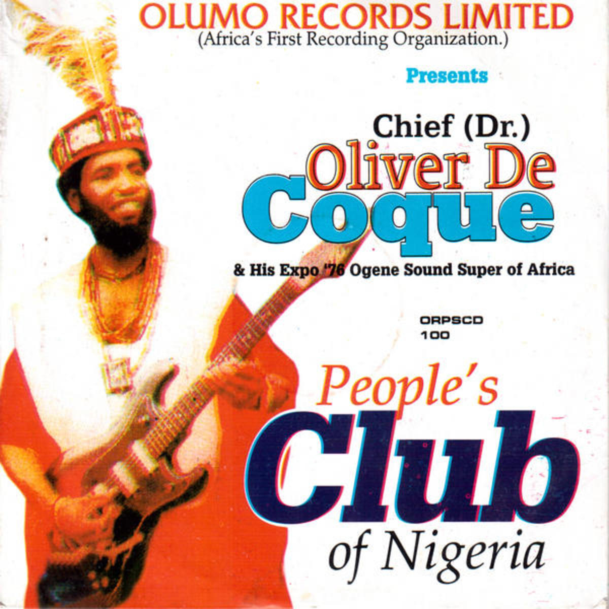 Oliver De Coque's song for People's Club of Nigeria