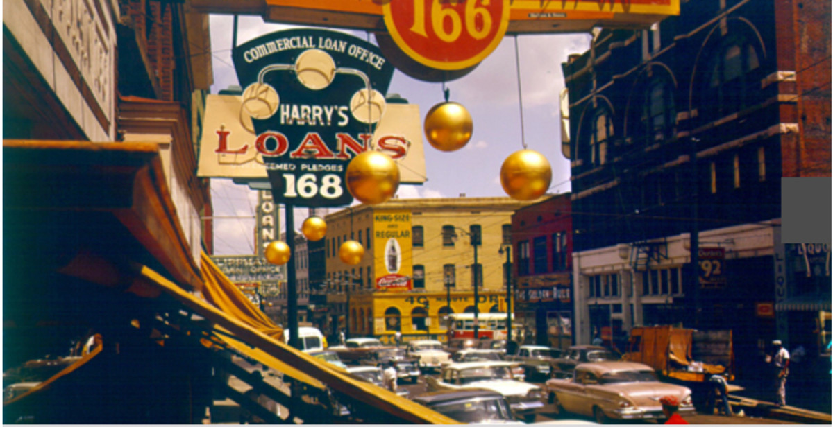 "Right after World War II; Club Handy on Beale Street, which was run by Andrew ""Sunbeam"" Mitchell, was an important stop on the Chitlin' Circuit."