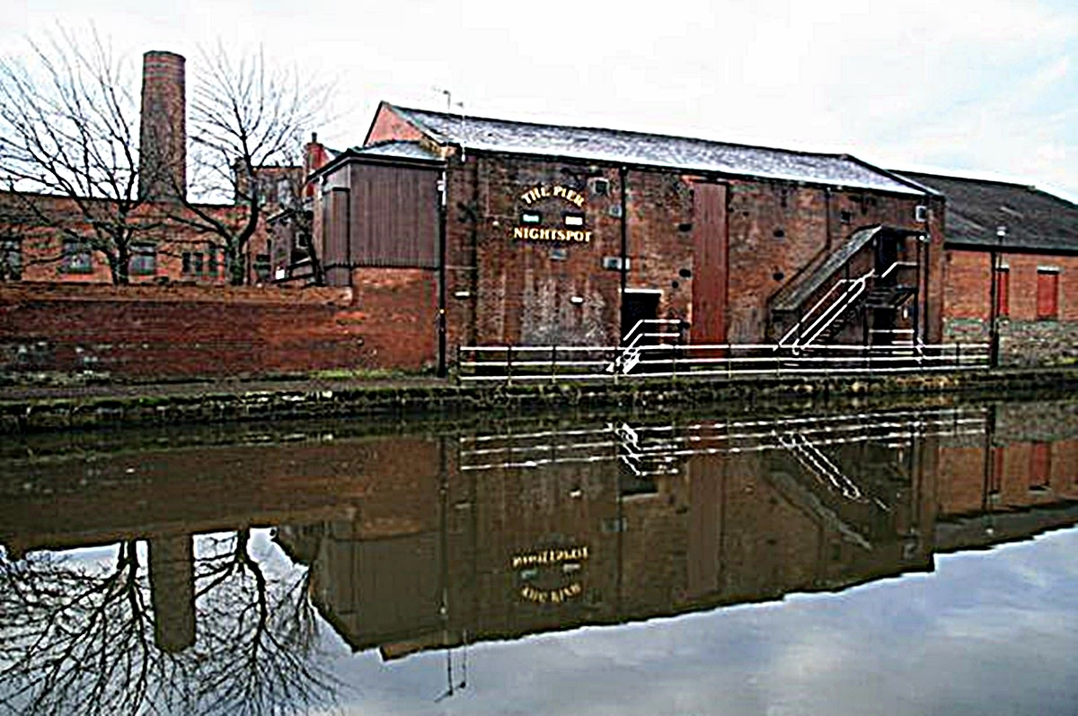 Wigan Pier (January 2014) some time after it had closed down.