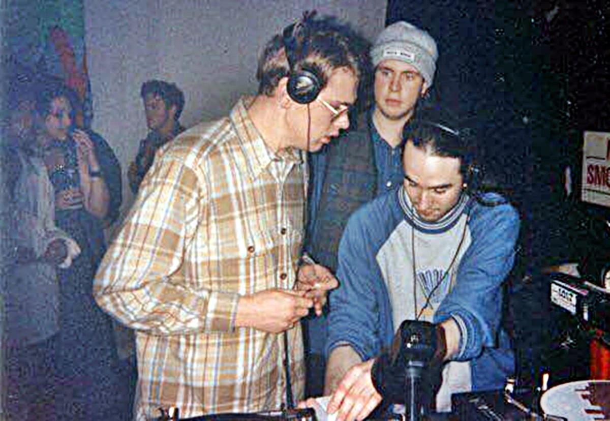 DJs Andy D and Wayne Essential