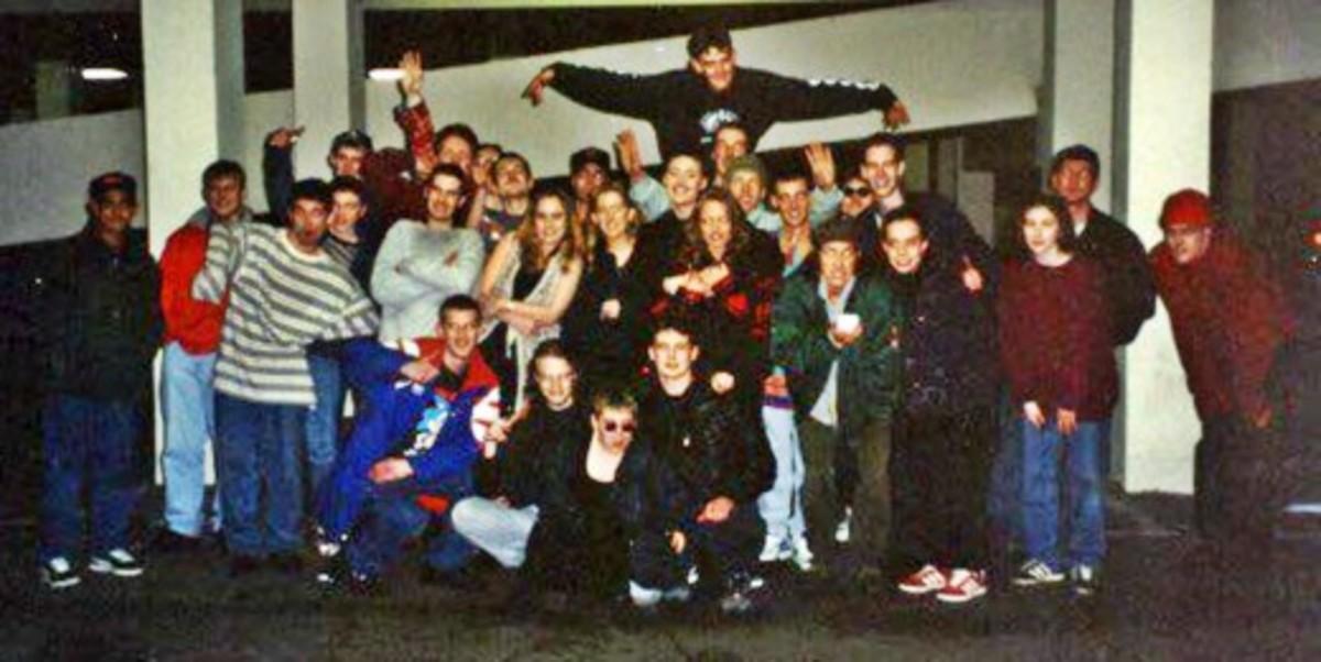Outside Angels, Burnley (1992)