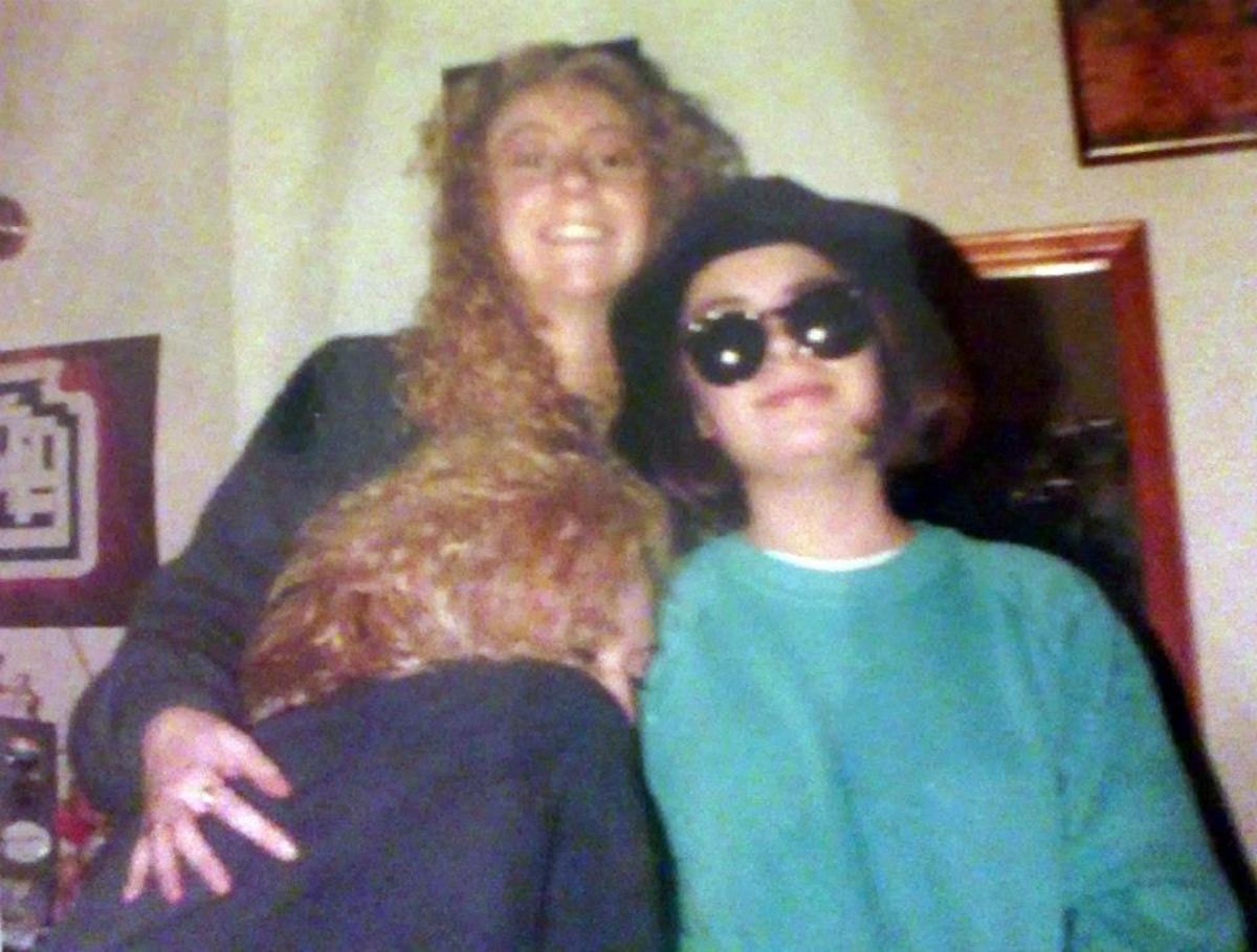 Me, Julia and Carol (January 1992)