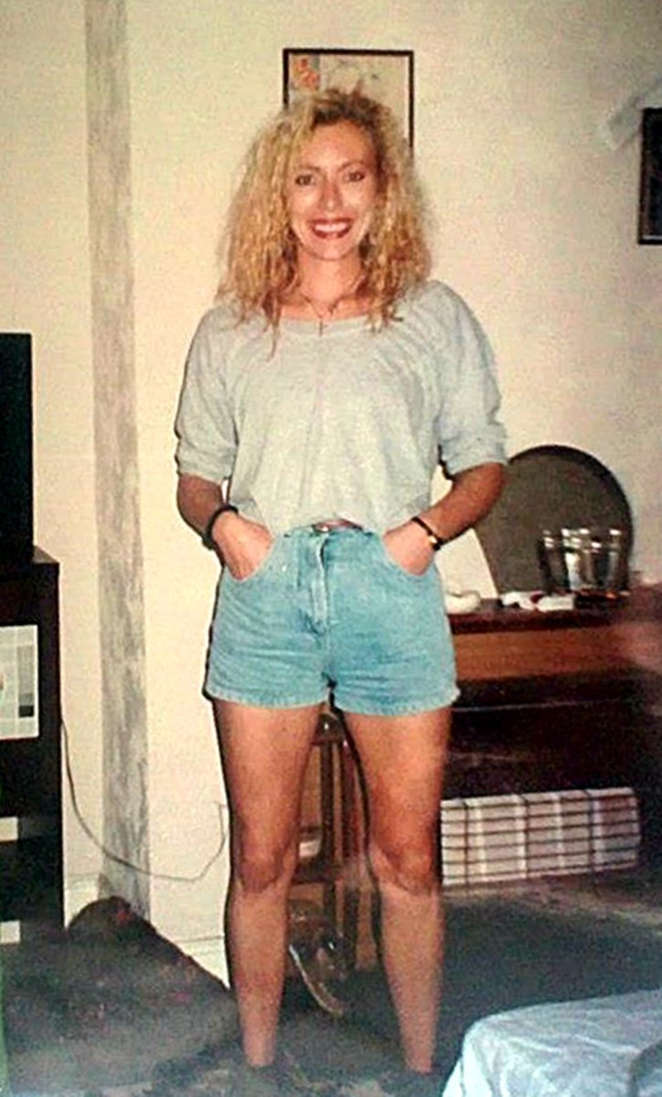 Me in the early 1990s wearing my typical clubbing attire of shorts, t-shirt and shoes in which I could dance all night.