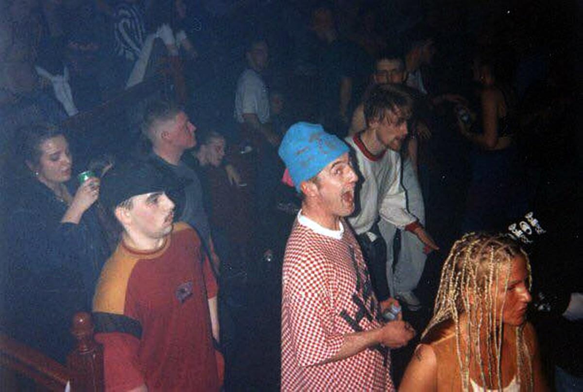 The dancefloor at the Empire, Morecambe (1992)