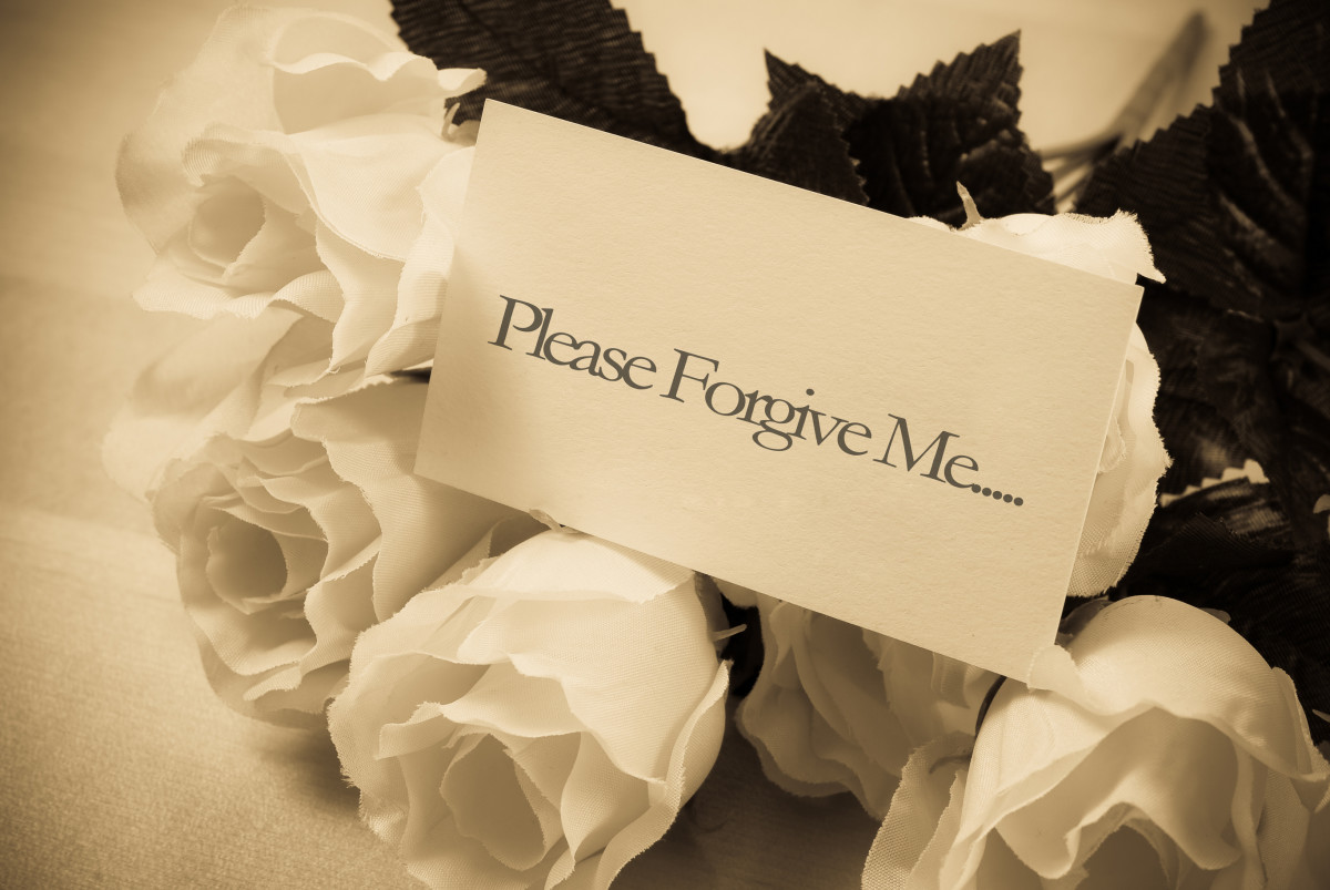 Apologize before the chance slips away.