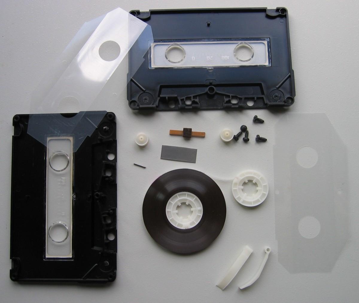 Cassette parts