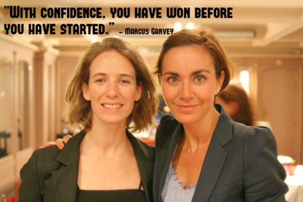 """""""With confidence, you have won before you have started."""" - Marcus Garvey, Jamaican political leader"""