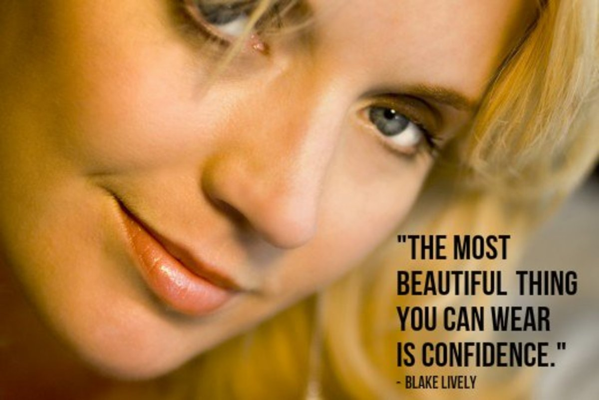 """The most beautiful thing you can wear is confidence."" - Blake Lively, American actress"