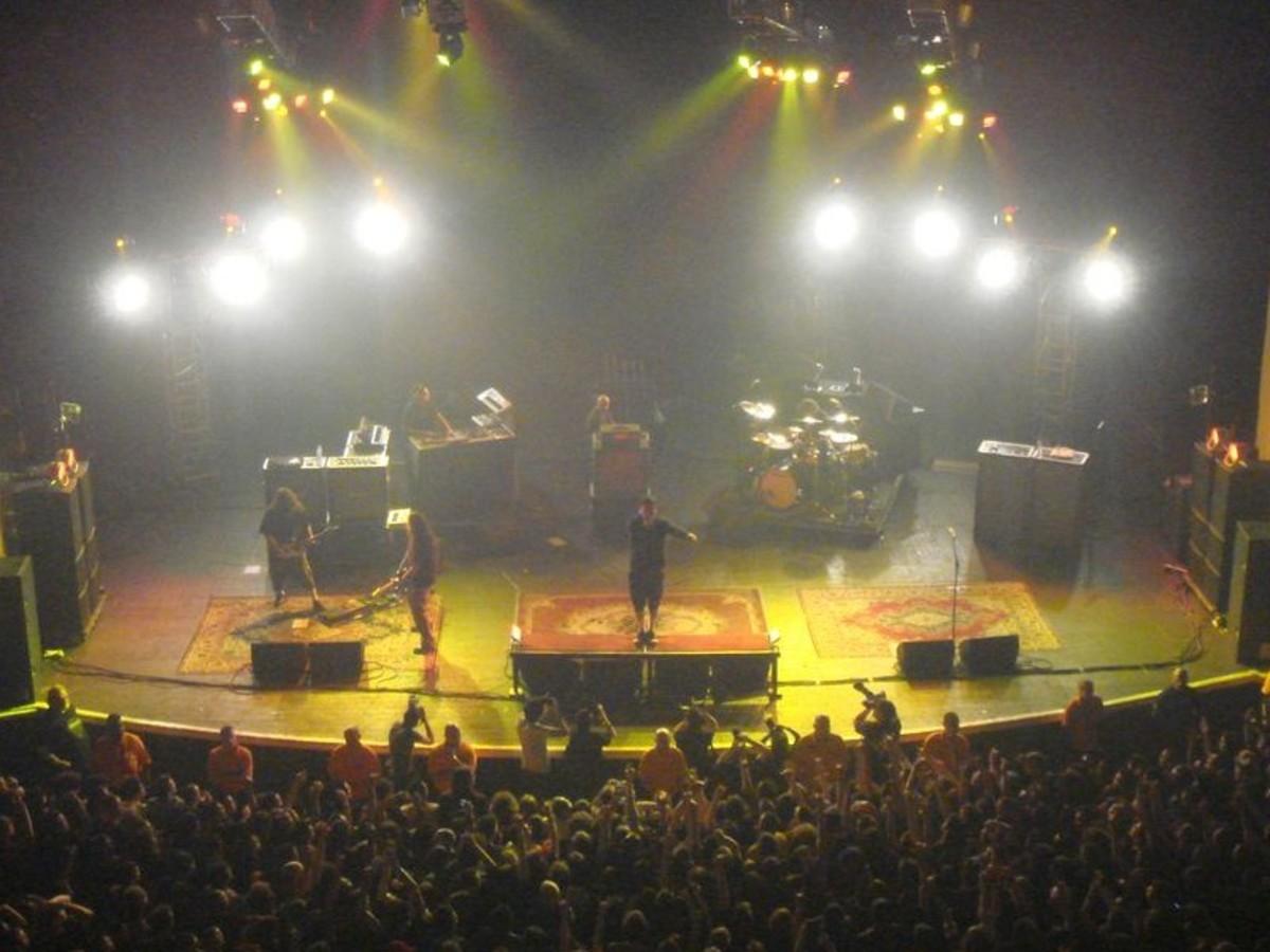 Deftones live at Brixton Academy.