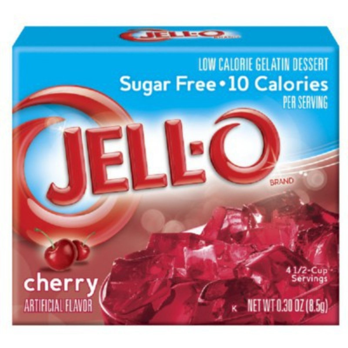 In 1984, sugar-free Jell-O appeared on grocery store shelves for the first time.