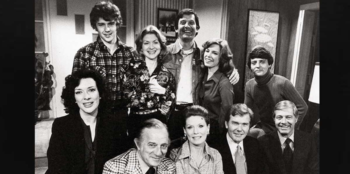 In 1984, the TV soap Edge of Night ended a 28-year run on CBS.