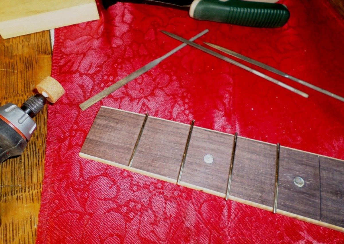 fret wire installation