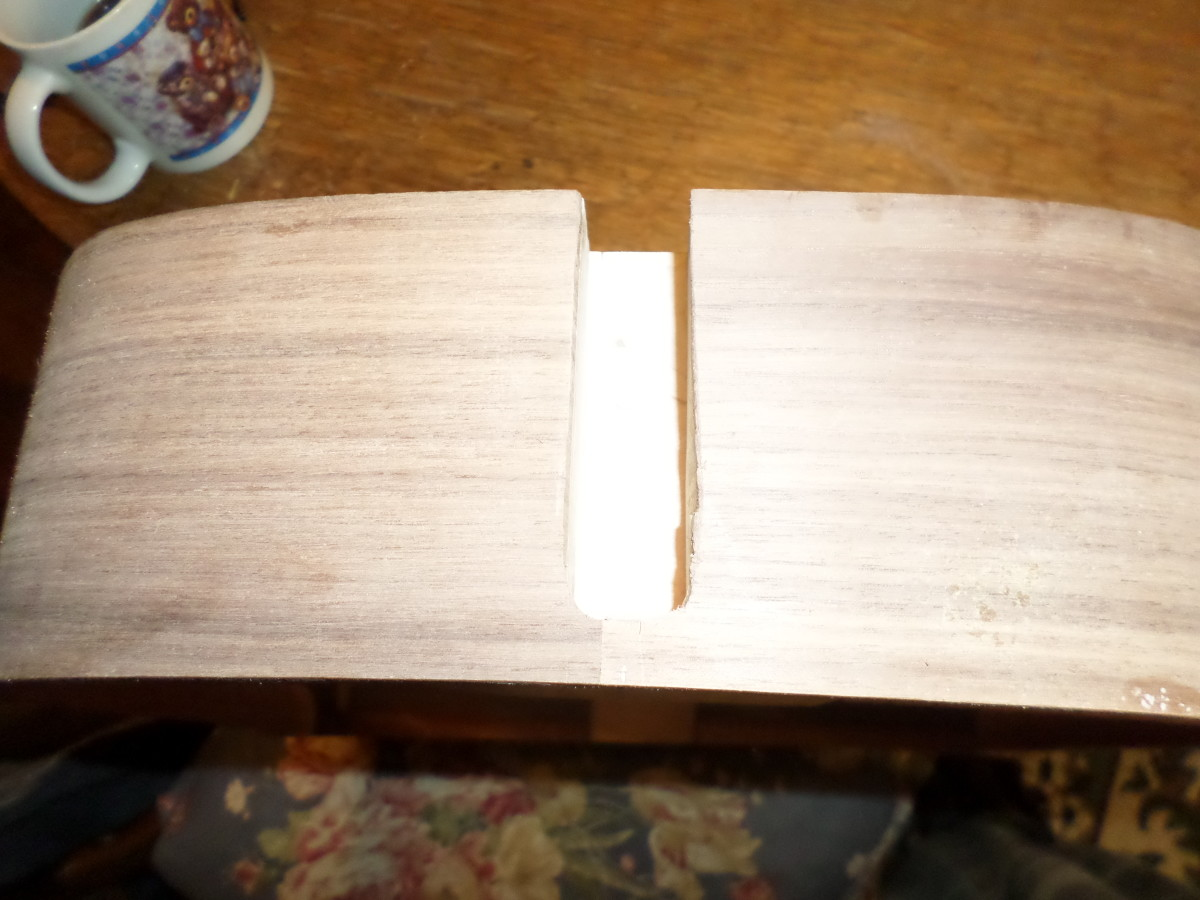 Neck mortise.