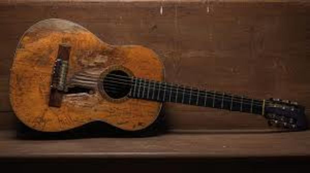 guitar of my nightmare - actually I would not mind owning this one