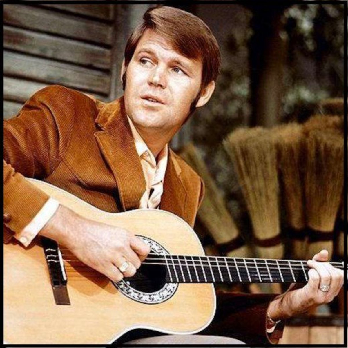 """In 1967, Glen Campbell recorded one of his most beloved songs, """"Gentle on My Mind"""""""