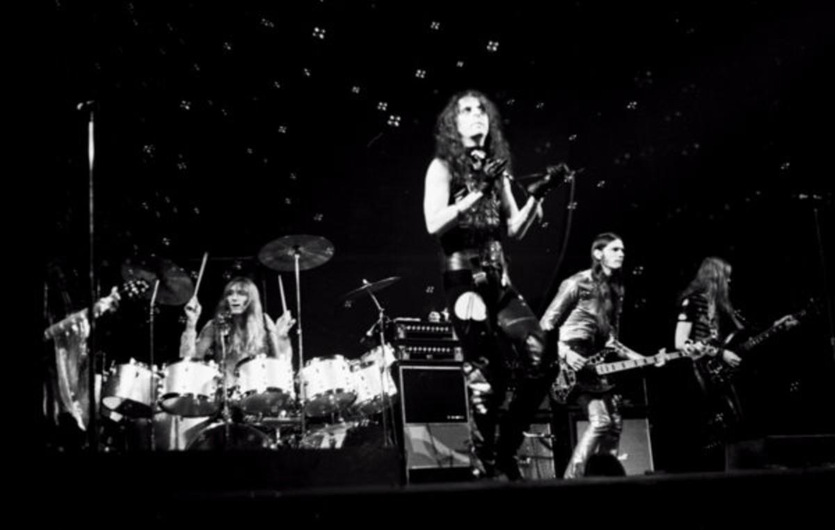 Township Auditorium, Columbia, South Carolina. May 10 1972.